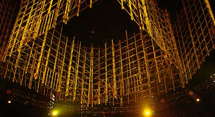 The Punjabi Prison at No Mercy in 2007 Punjabi Prison No Mercy 07.jpg