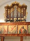 Pursruck, St. Ursula, Gehäuse Funtsch 1754.JPG