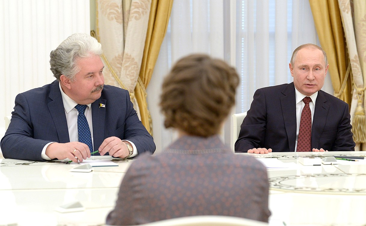 Putin meets with candidates for the position of President of the Russian Federation 2.jpg