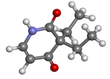 Pyrithyldione ball-and-stick.png