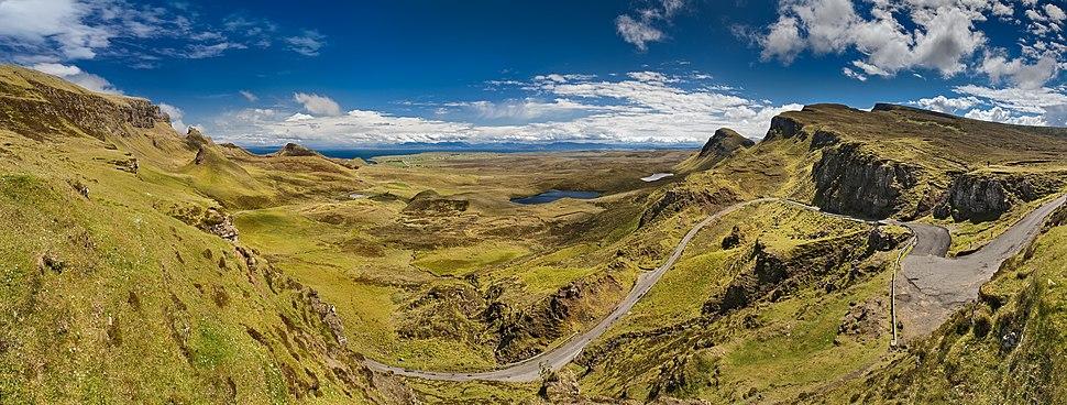 Quiraing Isle of Skye Pano