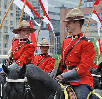 English: Royal Canadian Mounted Police - Rider...