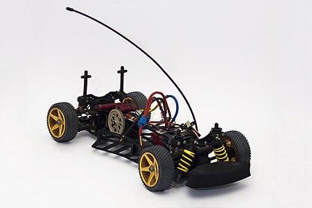 Detailed RC Race Car