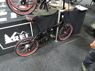 Novara (company) - Flyby Novara folding bike