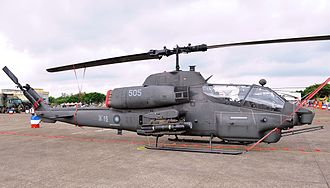 Bell AH-1 SuperCobra - An AH-1W Super Cobra with the Republic of China Army