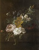 Rachel Ruysch - A spray of flowers 2007BP3949.jpg