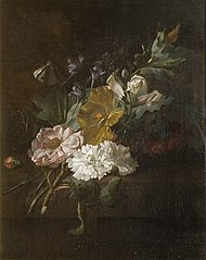 A spray of flowers