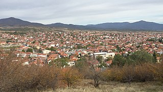 Radoviš City in Southeastern, North Macedonia