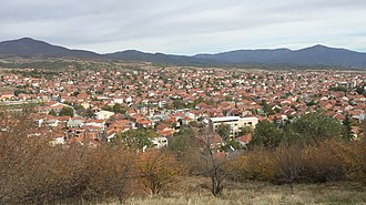 Radoviš - View of Radoviš