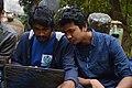 Rafaell Russell & Fahaad Ameen at Wikipedia 15 good article edit-a-thon and adda, Chittagong 2 (01).jpg