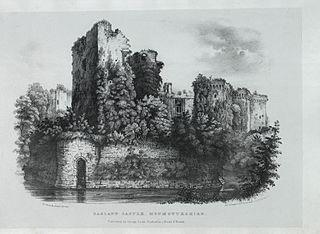 Ragland Castle, Monmouthshire