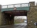 Railway bridge Darton - geograph.org.uk - 722074.jpg