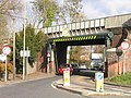 Railway bridge on the A3057 Romsey - geograph.org.uk - 607586.jpg