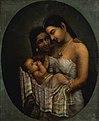 Raja Ravi Varma, Mother and Child.jpg