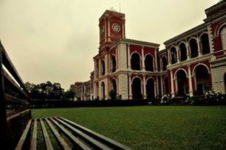 Raipur - View of the Rajkumar College, Raipur