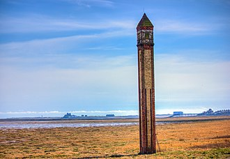 Rampside - Rampside Lighthouse, also known as The Needle, was built in the 19th century
