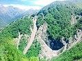 Ramramay şəlaləsinin Yezli dağından görünüşü.jpg