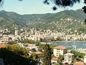 Vue panoramique de Rapallo