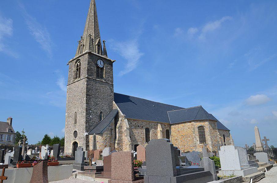 Église Notre-Dame de Rauville-la-Bigot.