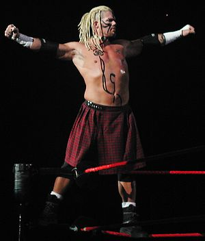 Raven (wrestler) - Raven competing for WWE in September 2002
