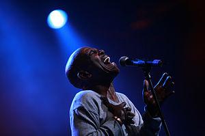Ray Phiri - Phiri performing in 2007