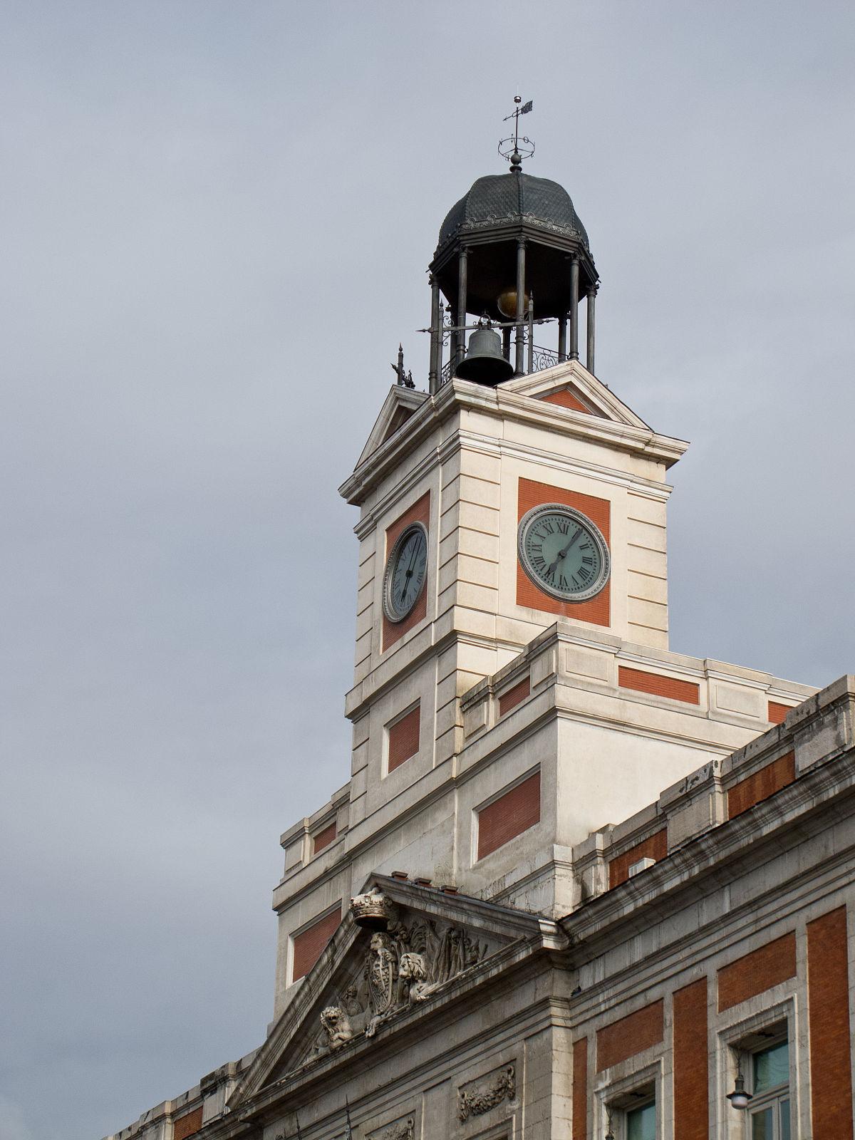 Reloj de gobernaci n wikipedia la enciclopedia libre for La real casa de correos