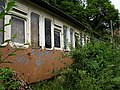 Recycled railway carriage, Lower Kelly, Calstock - geograph.org.uk - 203632.jpg