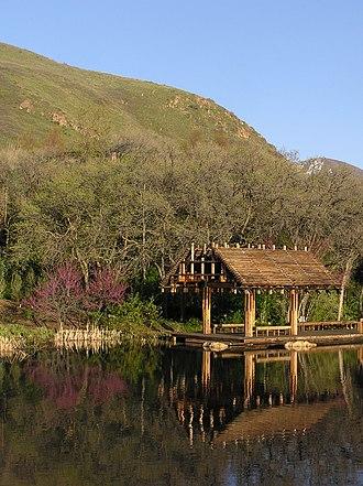 Red Butte Garden and Arboretum - Lagoon at Red Butte Garden