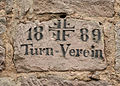Rehturm Inscription Turnverein.jpg