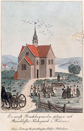 Rein Church - Image: Rein kirke UBT TO 000898 01 1