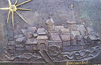 Ebermannstadt - Relief