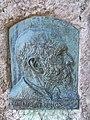 Relief of János Halmos by Ferenc Pelzmann, 1906. - Budapest.JPG