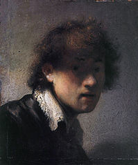 Self-portrait Lit from the Left