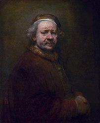 Rembrandt: Self-Portrait at the Age of 63