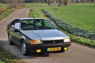 Renault Fuego - Renault Fuego GTX 1982
