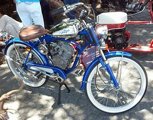 Whizzer (motorcycles) - A New Model Whizzer (Began Production in the 90s)