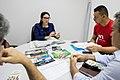 Reunião na DPU - defensora Ingrid Noronha, Wanderson Valente Ferreira (morador da Vila Maranhão), Rafael Silvac (OAB MA) e Saulo (CSP CONLUTAS.) (41552894131).jpg