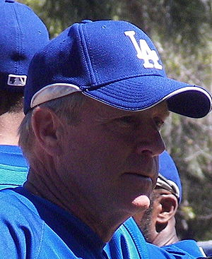 Rich Donnelly - Donnelly with the Dodgers in 2007