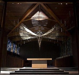 Portsmouth Abbey School - Richard Lippold's Trinity after Restoration by Newmans LTD