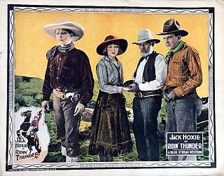 <i>Ridin Thunder</i> 1925 film
