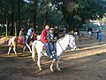 Riding a horse at the wright park1.jpg