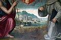 Ridolfo del ghirlandaio (attr.), maria assunta tra i ss. giovanni battista e francesco, 1524 ca. 04 paesaggio.jpg