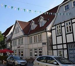 Rathausstraße in Rietberg