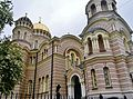 Riga Russisch-Orthodoxe Kathedrale Christi Geburt 5.JPG
