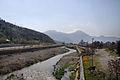 Rio Mapocha viewed from Puene lo Saldes, Santiago (5125548557).jpg