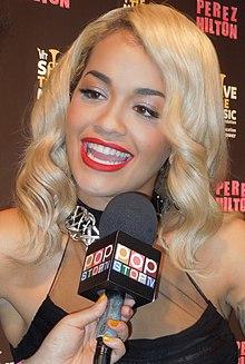 Rita Ora nel 2012