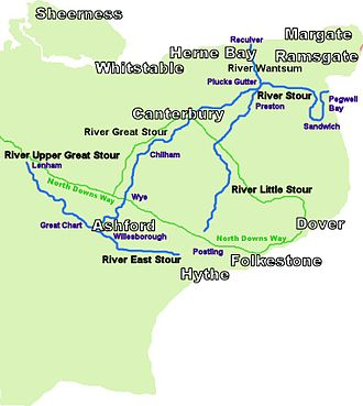 River Stour, Kent - River Stour and Tributaries