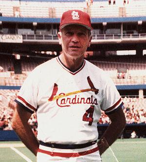 Mike Roarke - Roarke as the Cardinals' pitching coach, 1988