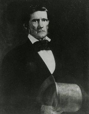 Robert Jefferson Breckinridge - Portrait of Breckinridge as President of Jefferson College