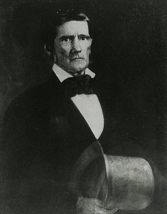 Robert Jefferson Breckinridge - Portrait of Breckinridge as President of Jefferson College